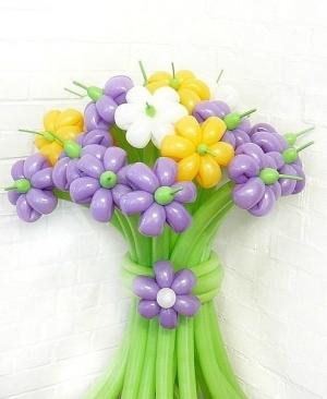 "Букет ""Летние ромашки 21 цветок"""