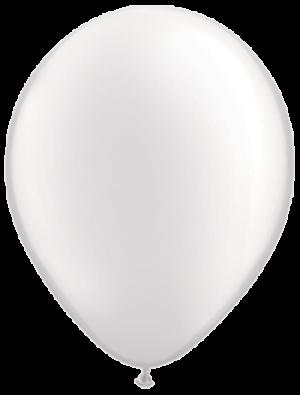 """Белый латексный шар (пастель) 12"""""""